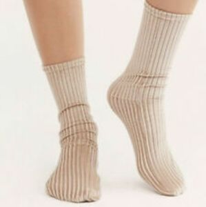 Free People Trixie Velvet Socks NWT